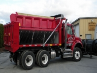 Sidewinder, 12' 12-14 yard body with 1/4 cabshield and single patchgate.