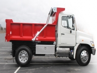 The DuraClass TD dump body offers clean lines, a durable design and superior manufacturing to provide a complete package at an economical price.