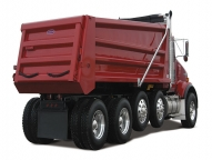 The DuraClass 316 dump body takes style to a whole new level, with its sleek, clean horizontal side braces.
