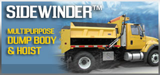 Sidewinder Multipurpose Dump Body Hoist